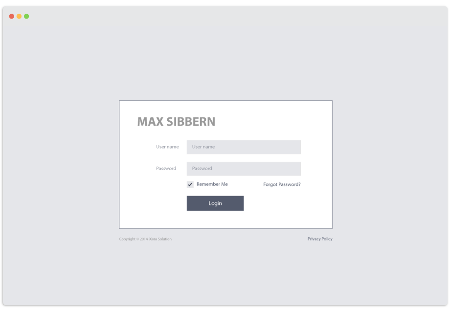 Max Sibbern Service System